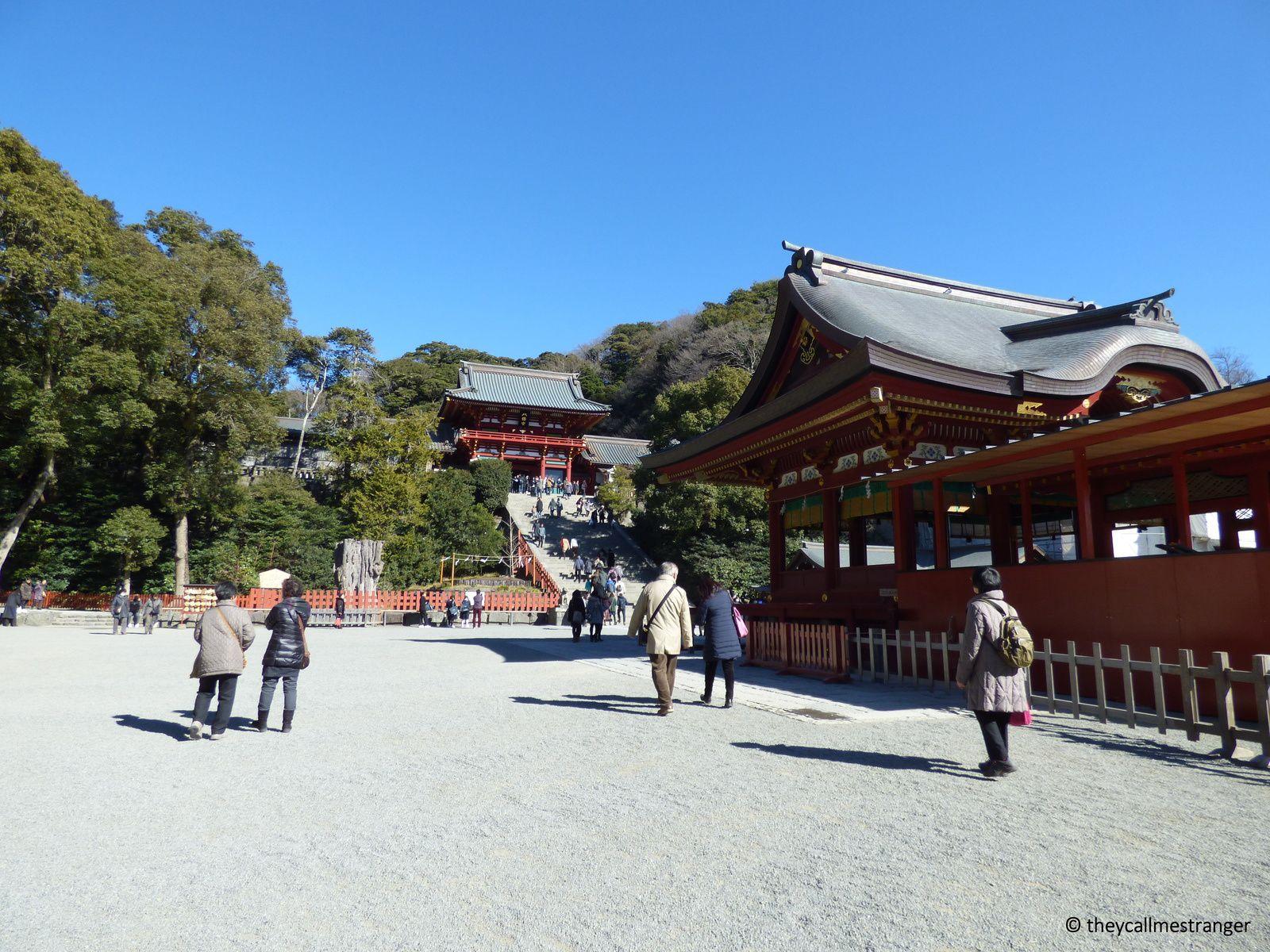 Le sanctuaire Hachiman, Tsurugaoka Hachiman-gū, Kamakura