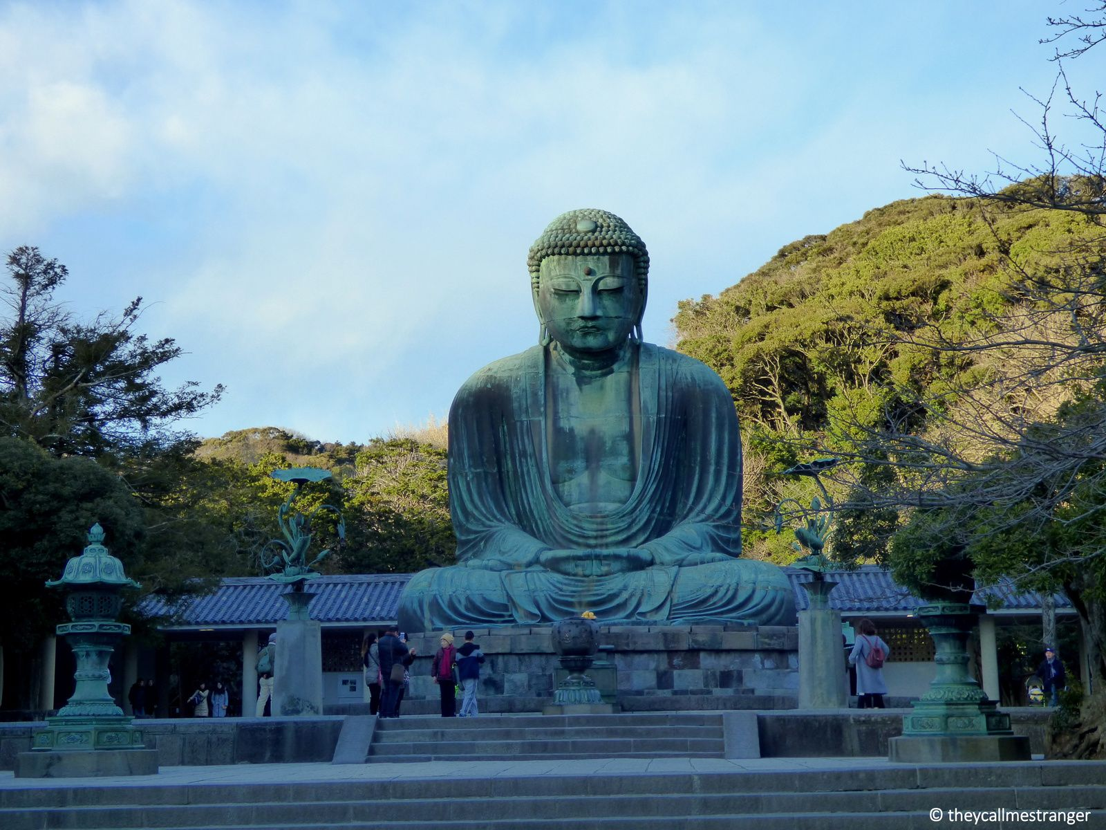 Le temple Kōtoku-in et son grand Bouddha, Kamakura