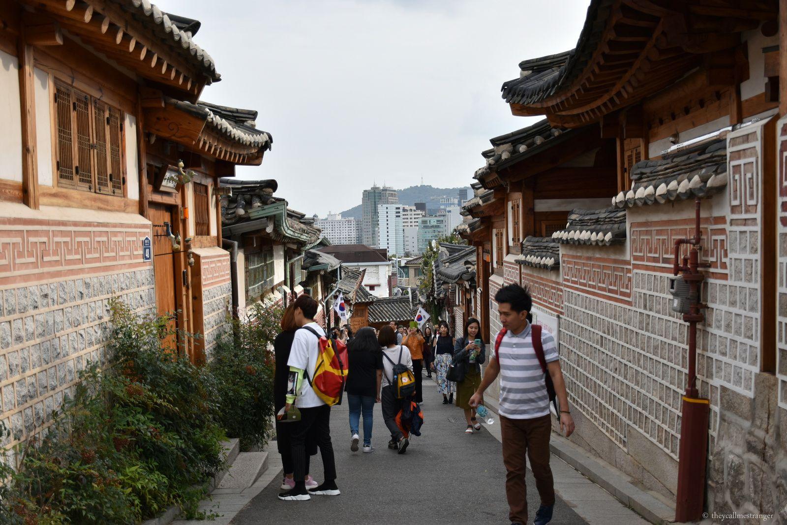 Bukchon Hanok Village, le quartier traditionnel de Séoul