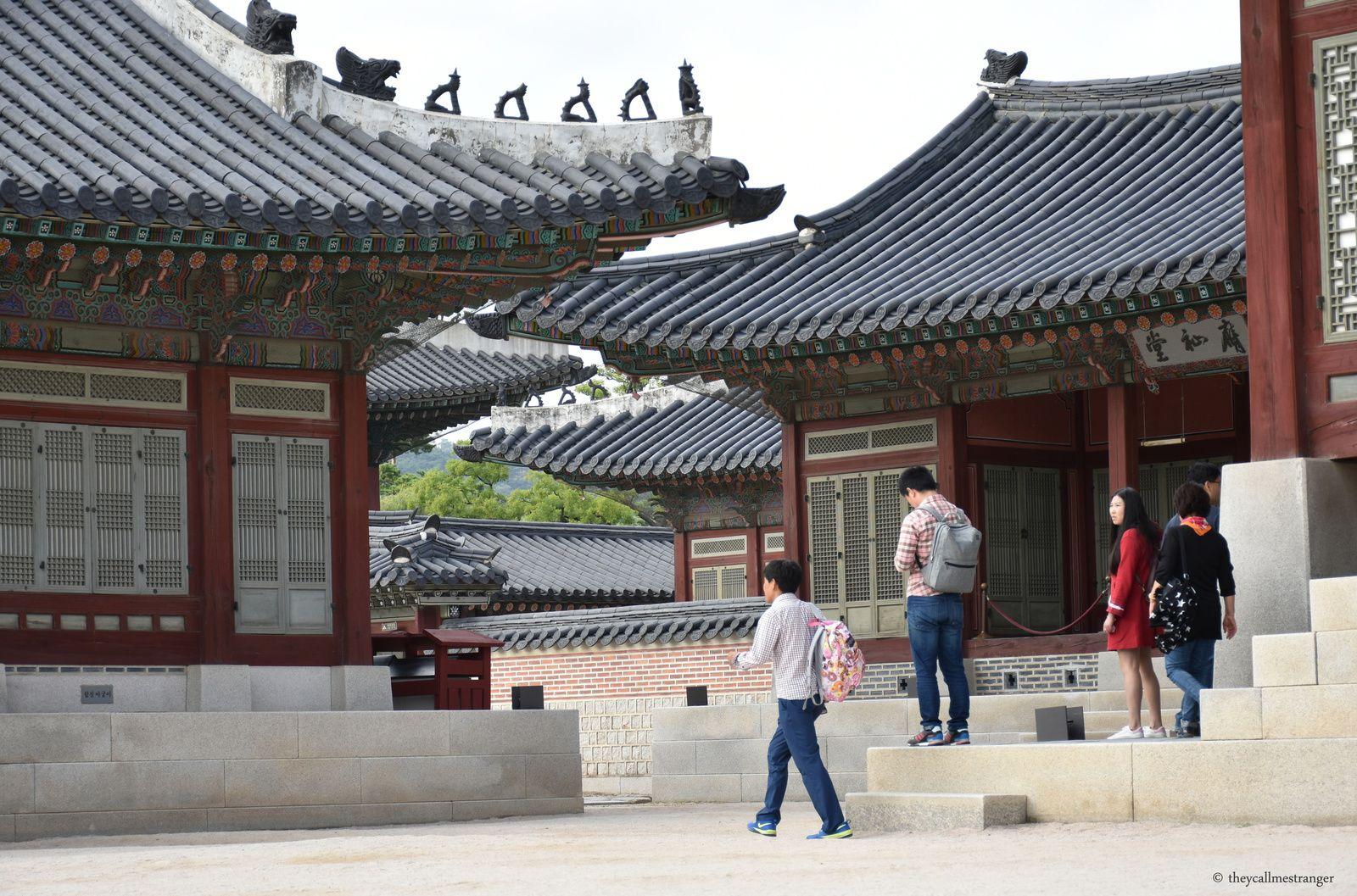 Le palais Gyeongbokgung, Seoul