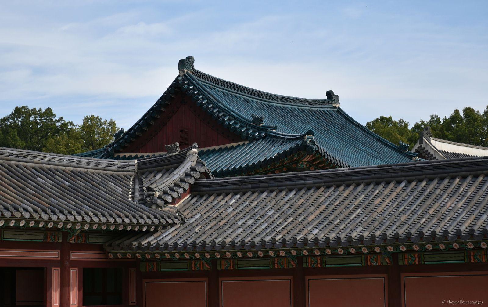 Le palais Changdeokgung, Seoul