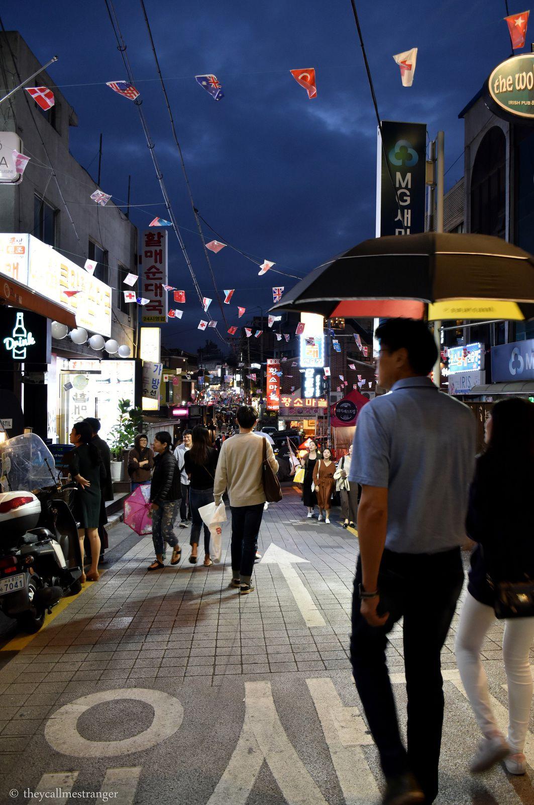 Le quartier Itaewon