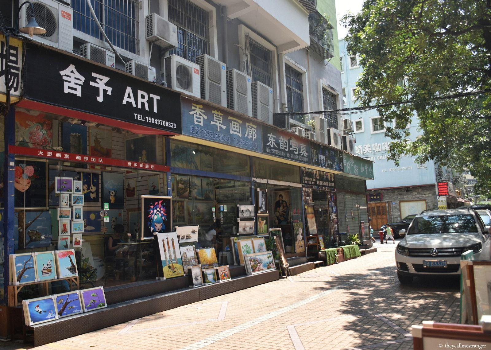 Le village de peintures de Dafen 大芬
