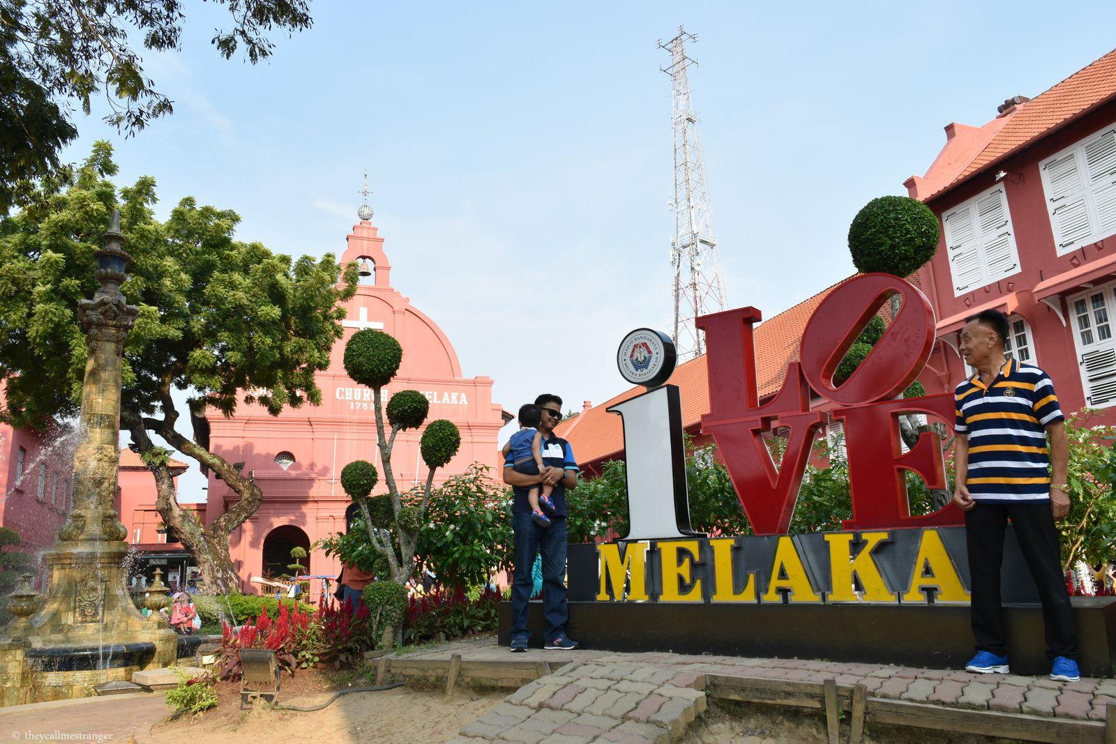 La petite ville trop mignonne de Malacca (Melaka)
