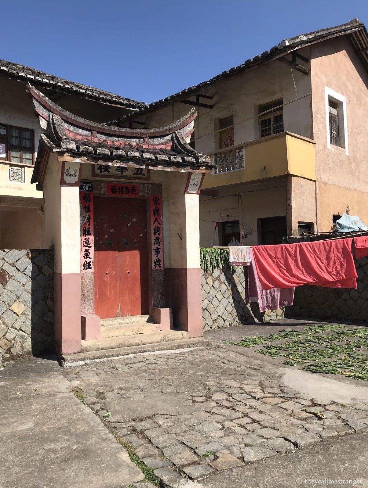 Les tulou du Fujian : Jour 2, les tulou de Yongding 永定土楼 (Gaobei Cluster)