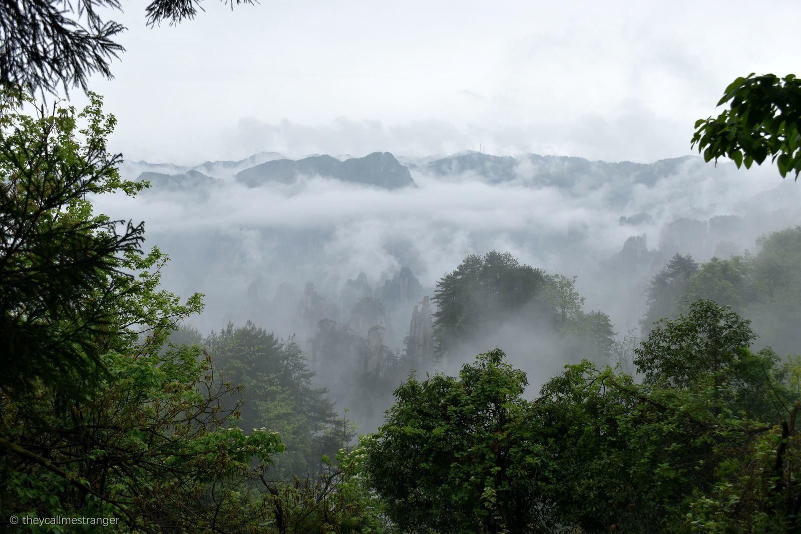 Trois jours dans le parc national de Zhangjiajie 张家界