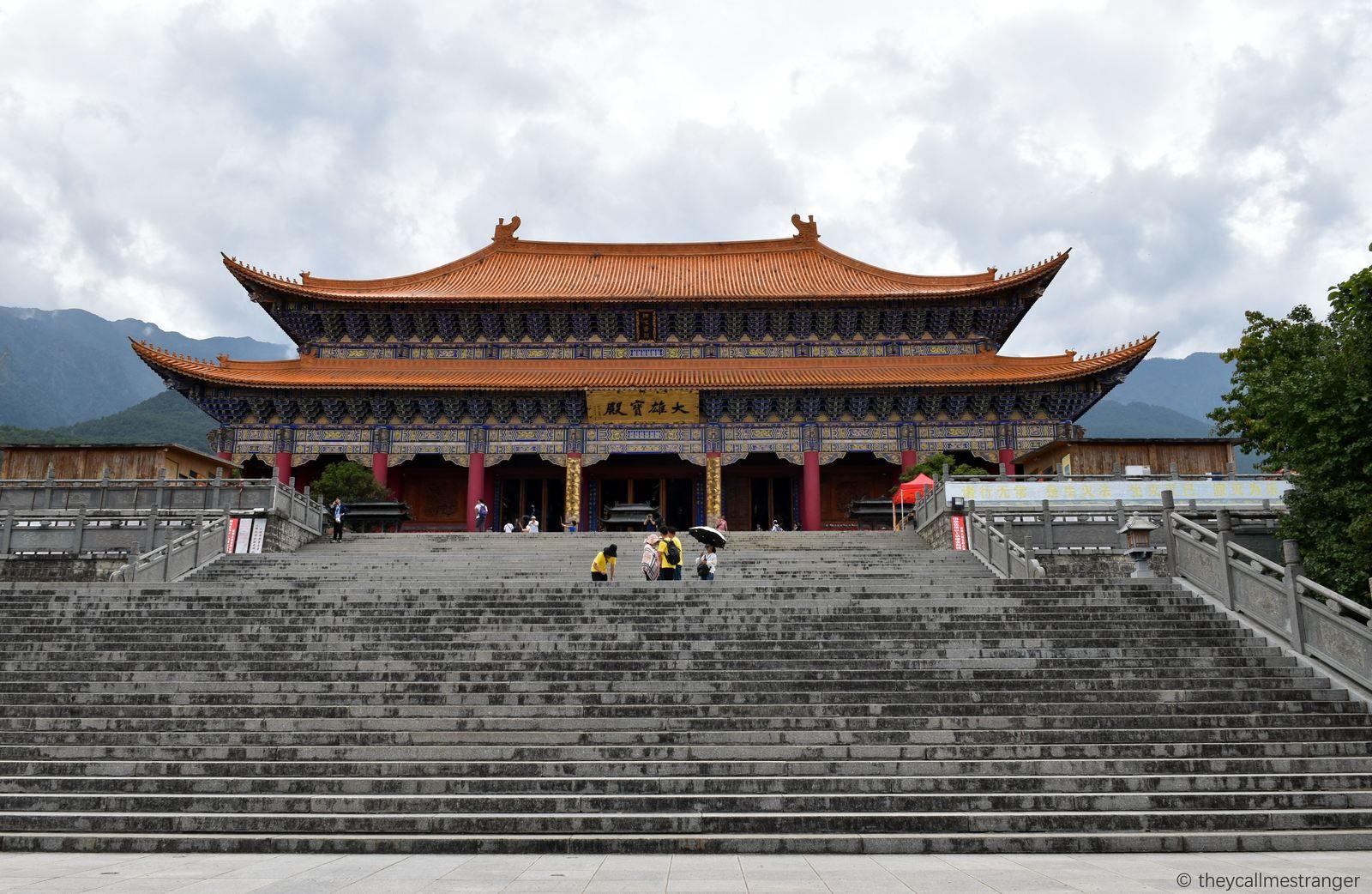 Dali 大理 : le temple Chongsheng et les 3 pagodes 崇圣寺三塔