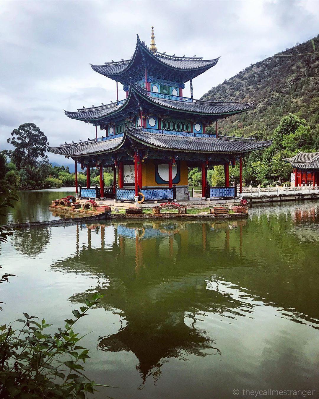 La vieille ville de Lijiang 丽江古城