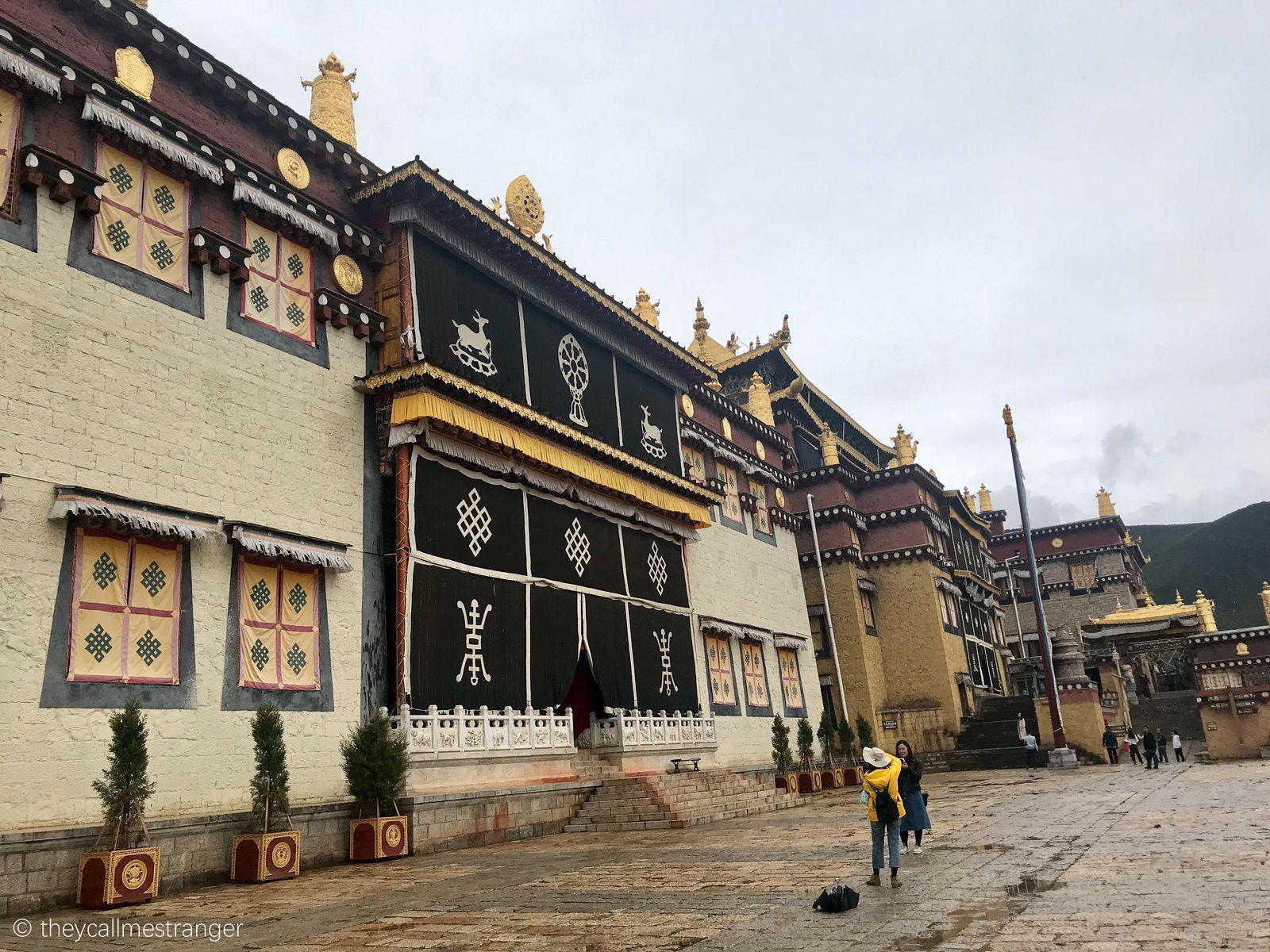 Shangri-la : le monastère tibétain Songzanlin 松赞林寺