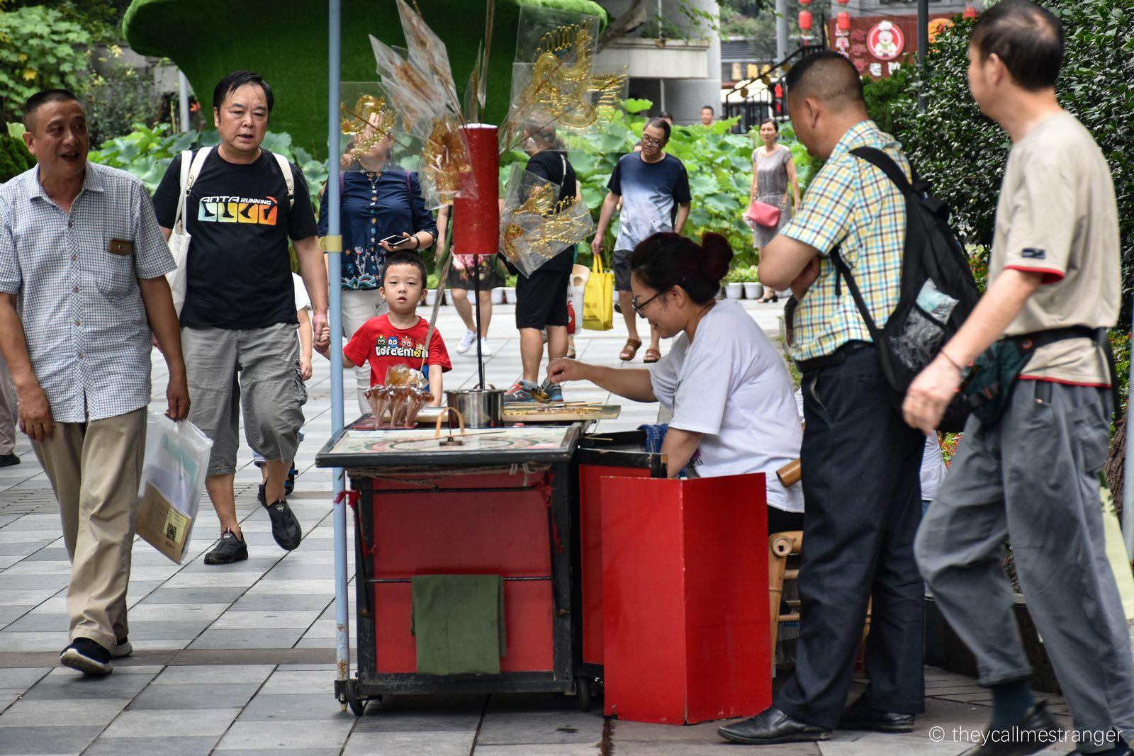 Chengdu 成都 : Le parc du peuple   人民公园