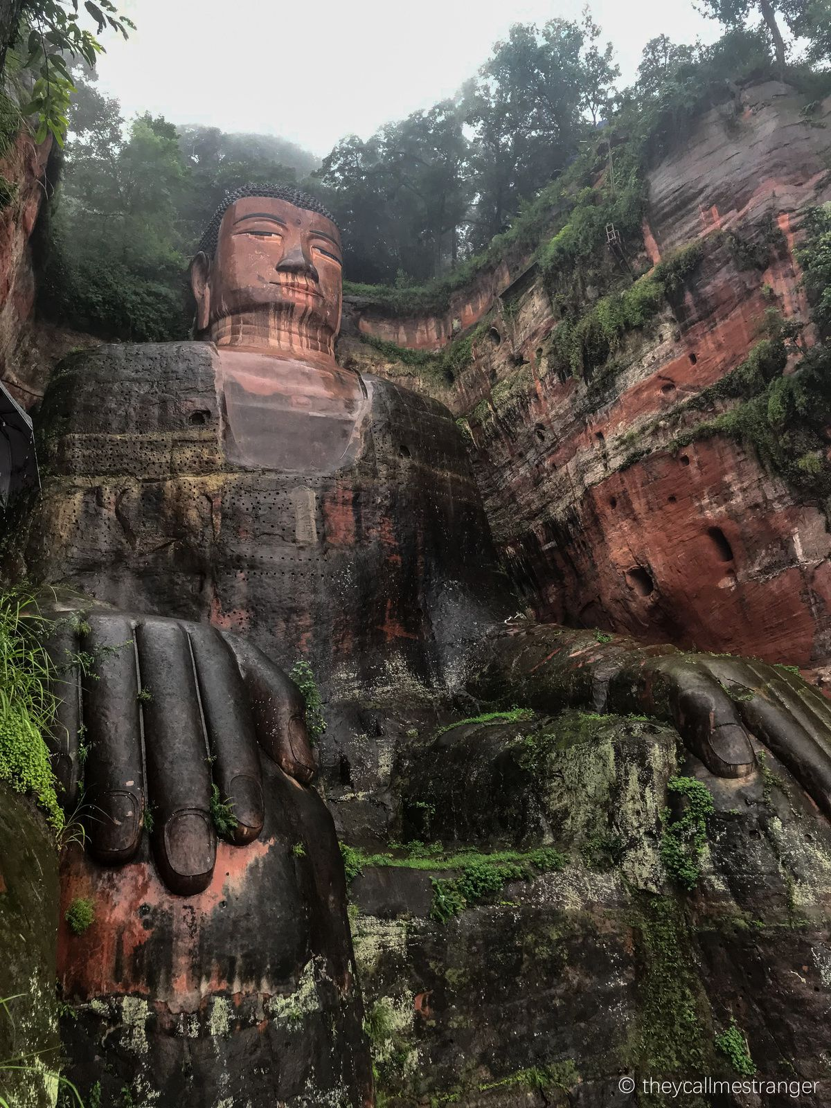 Le grand Bouddha de Leshan 乐山大佛