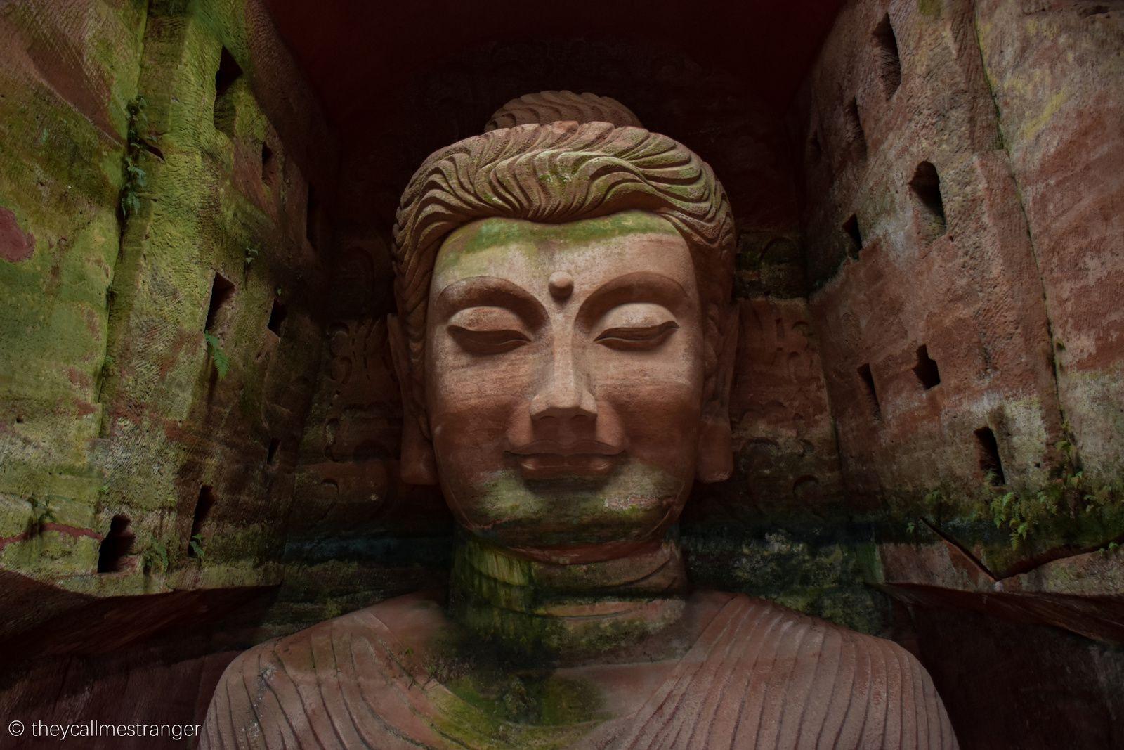 Le parc aux 3000 Bouddhas (Oriental Buddha Park 东方佛都), Leshan 乐山