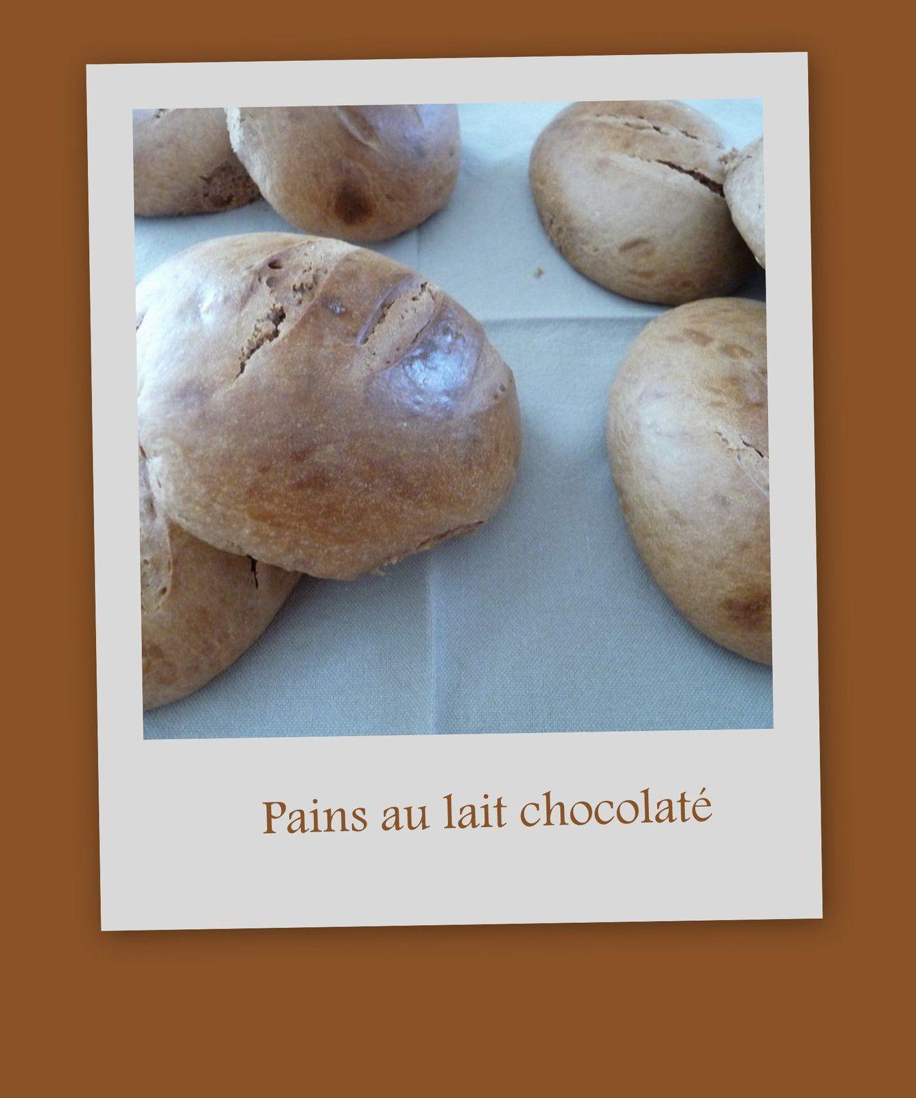 Pain au lait chocolaté