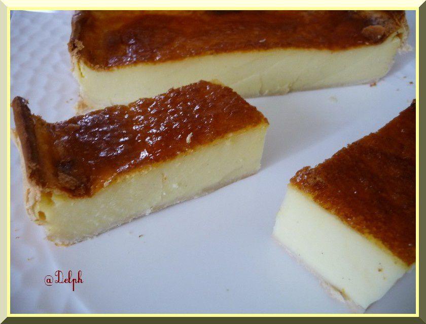 Flan pâtissier de Saloua