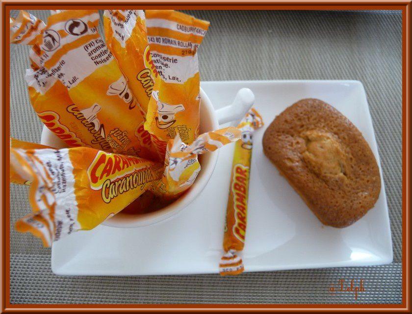 Mini Cakes au Caranougat