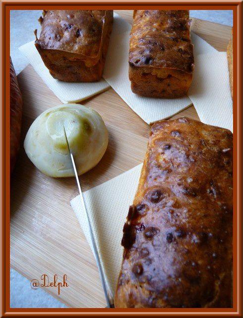 Cakes au chorizo et coeurs d'artichaut
