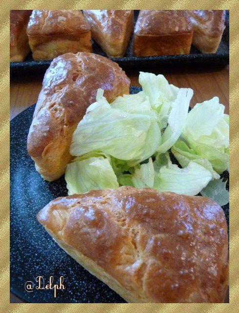 Cake au tarama, surimi et citron