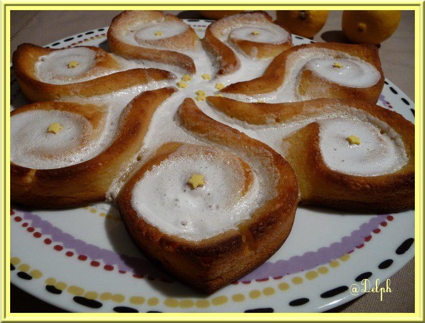Gâteau fondant citron et mascarpone
