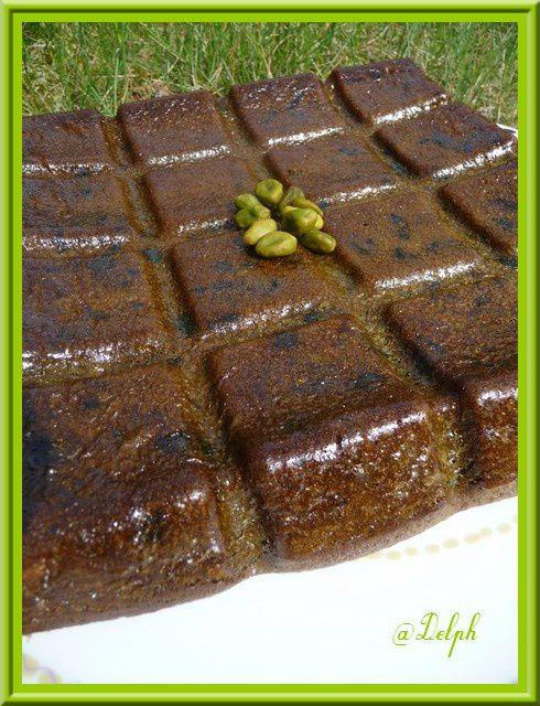 Gâteau à la pistache