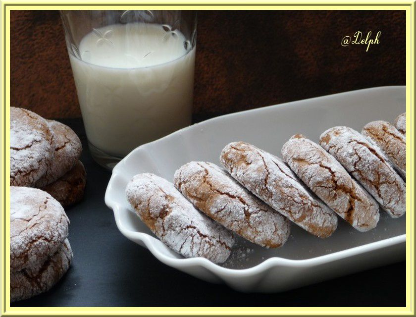 Biscuits craquelés au nutella
