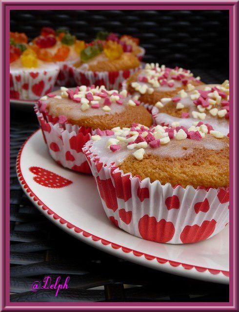 Muffins à la pâte d'amande