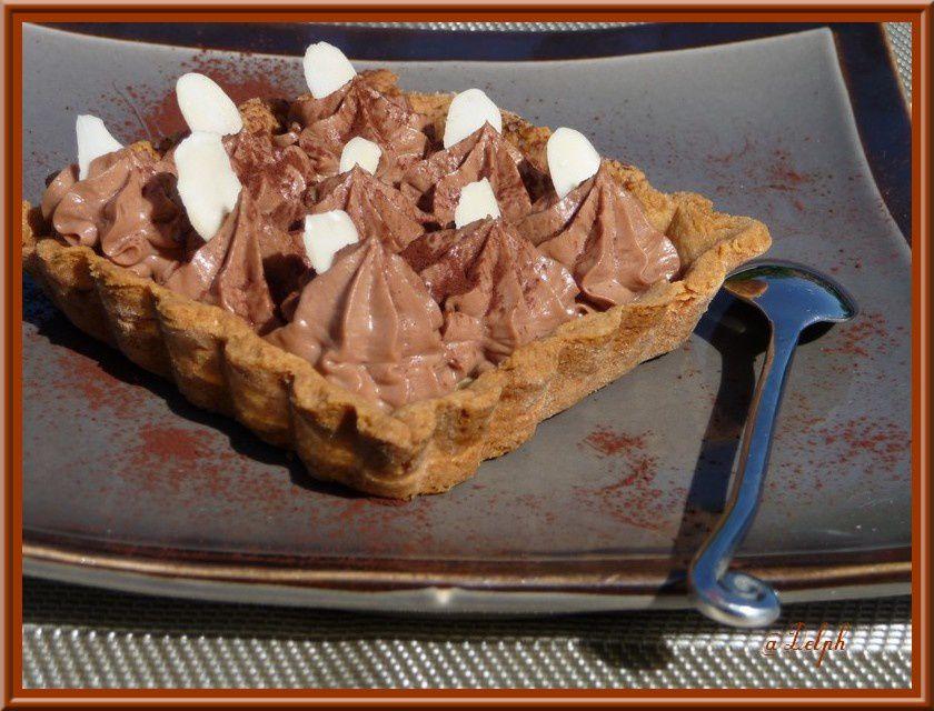 Tartelettes au chocolat Caramel.