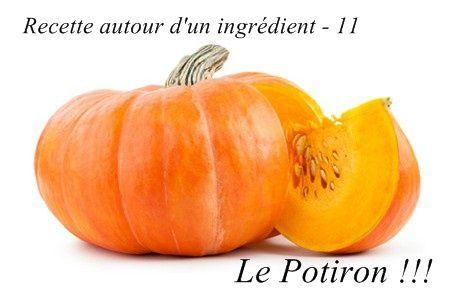 Crème de  Potiron aux Champignons