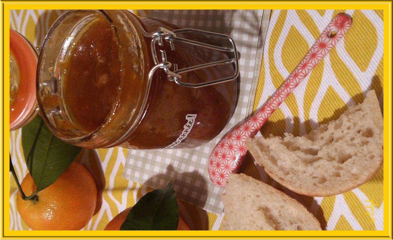 Confiture de Clémentine aux noix et quatre épices