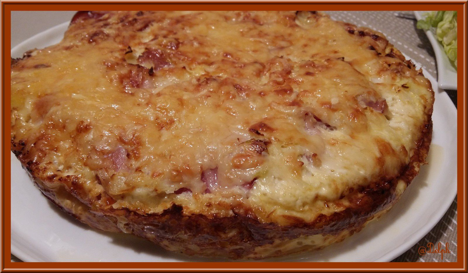 Gâteau de Pommes de terre au Bacon