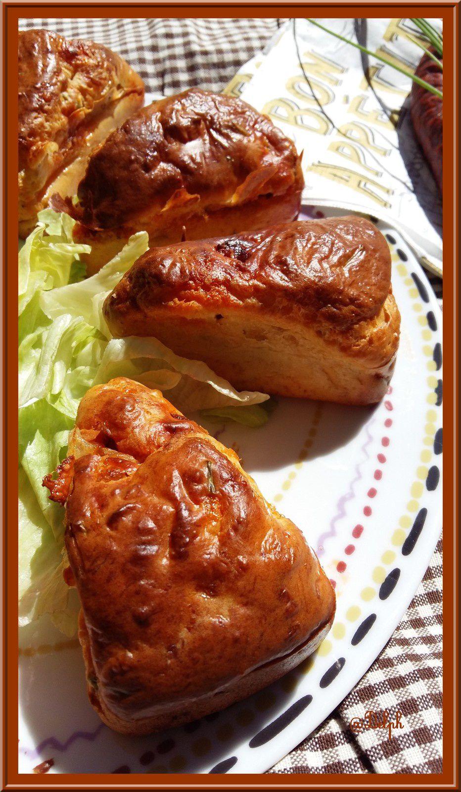 Minis cakes au chorizo et à la Mozzarella