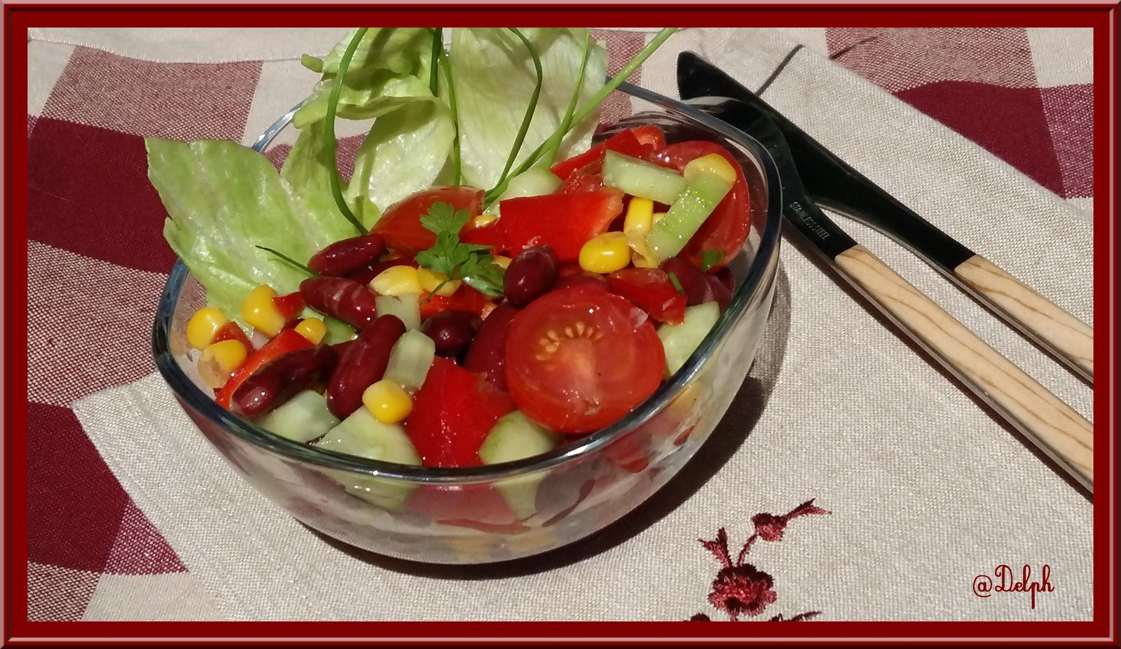 Salade Salsa Weight Watchers Oh La Gourmande