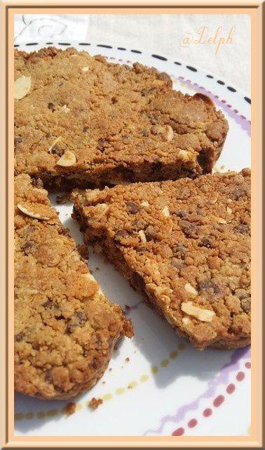 Cookies géant à la pâte de Speculoos