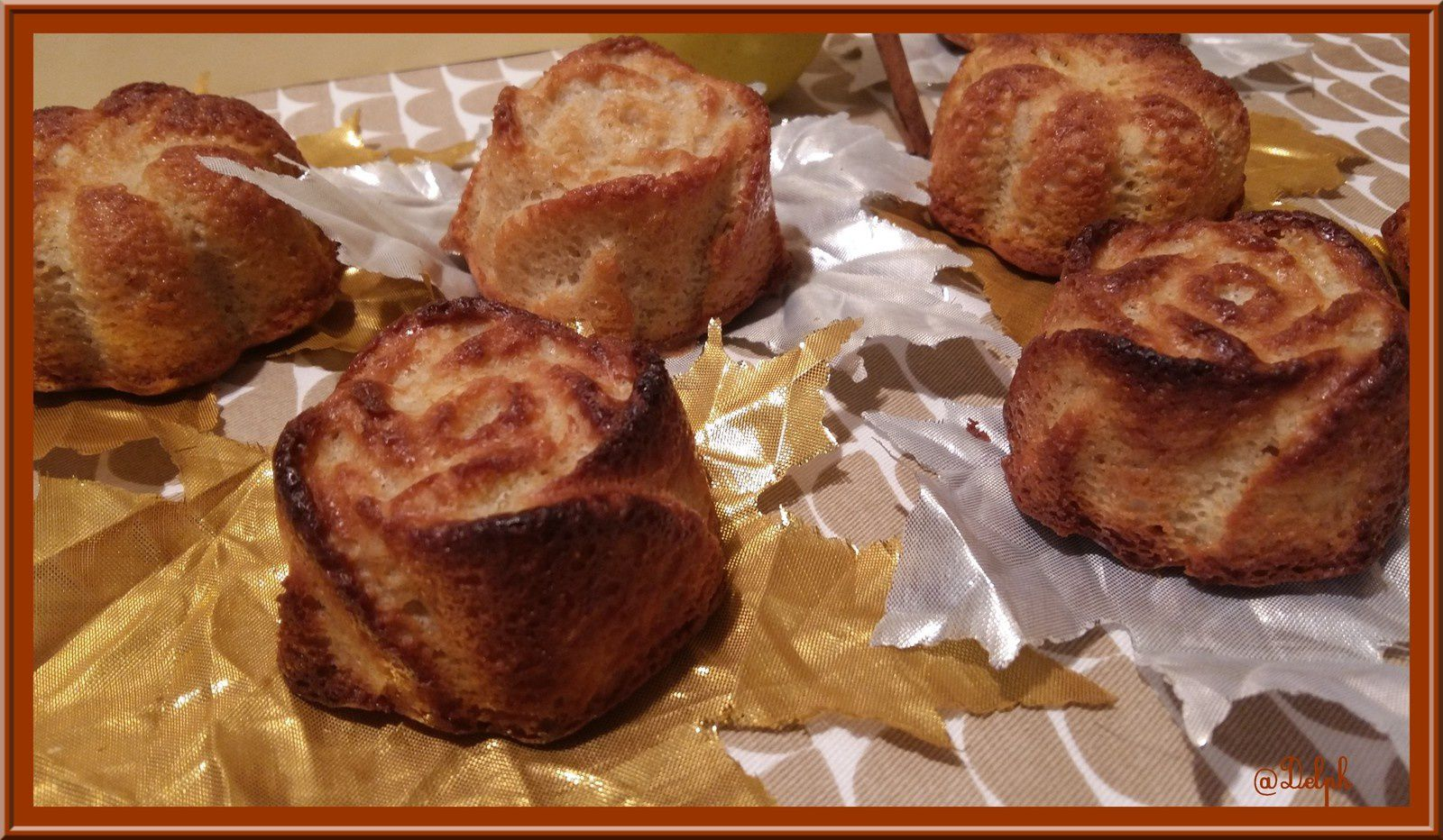 Minis Cakes Pommes Cannelle Amande
