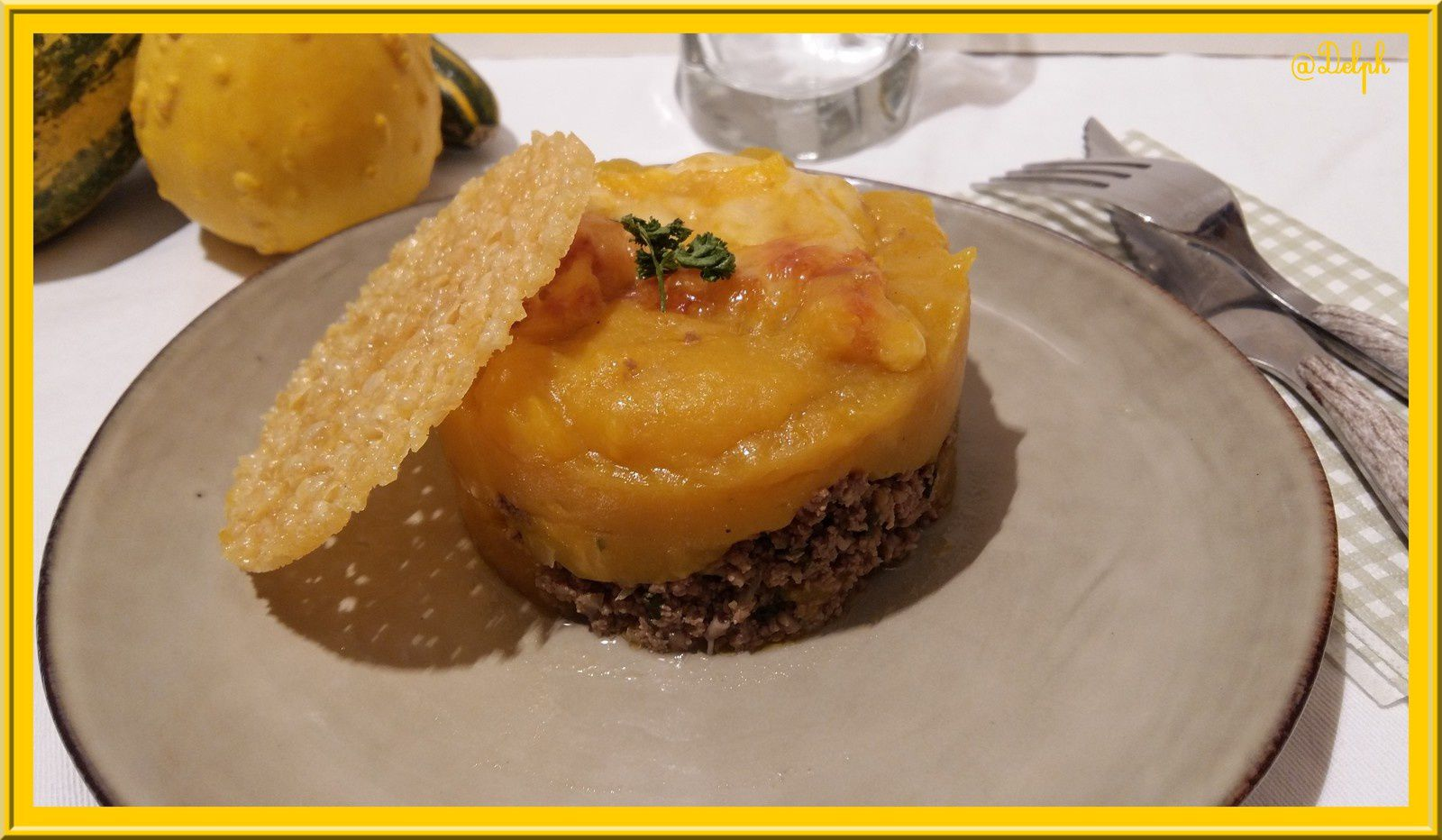 Parmentier de butternut au thermomix blogs de cuisine for Espace cuisine thermomix