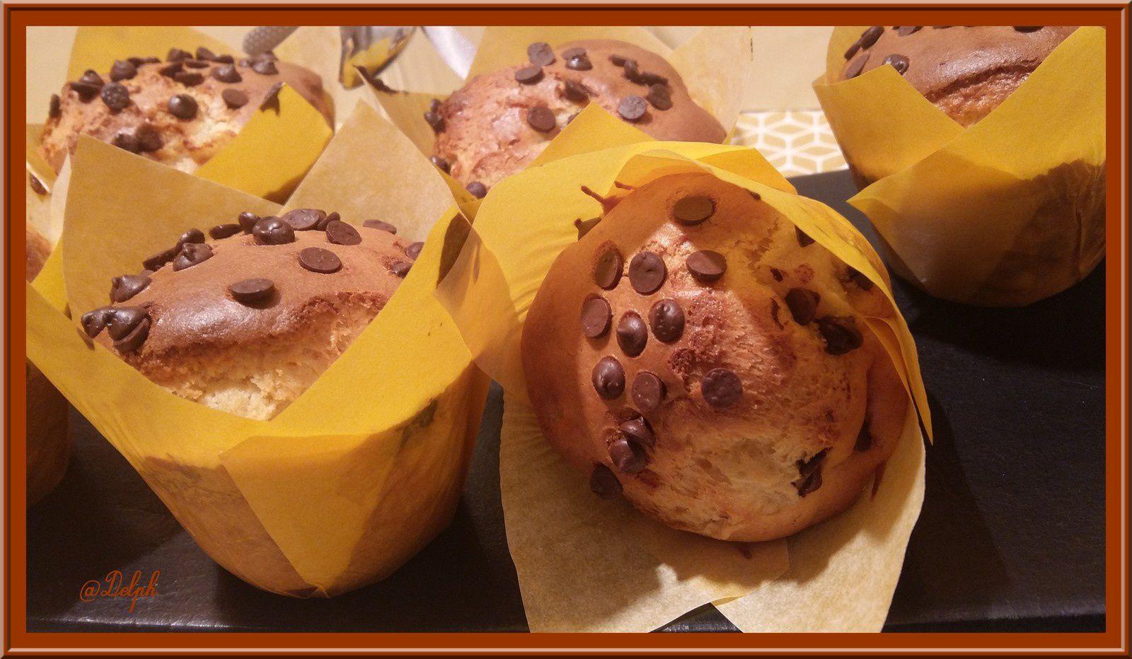 Muffins au Lait concentré et Poires