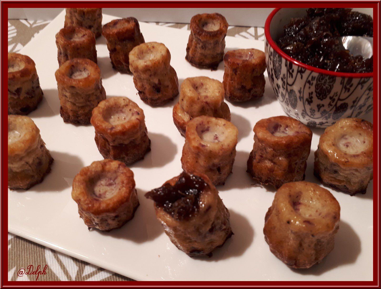 Mini-cannelés au Magret De Canard Fumé au Thermomix ou sans