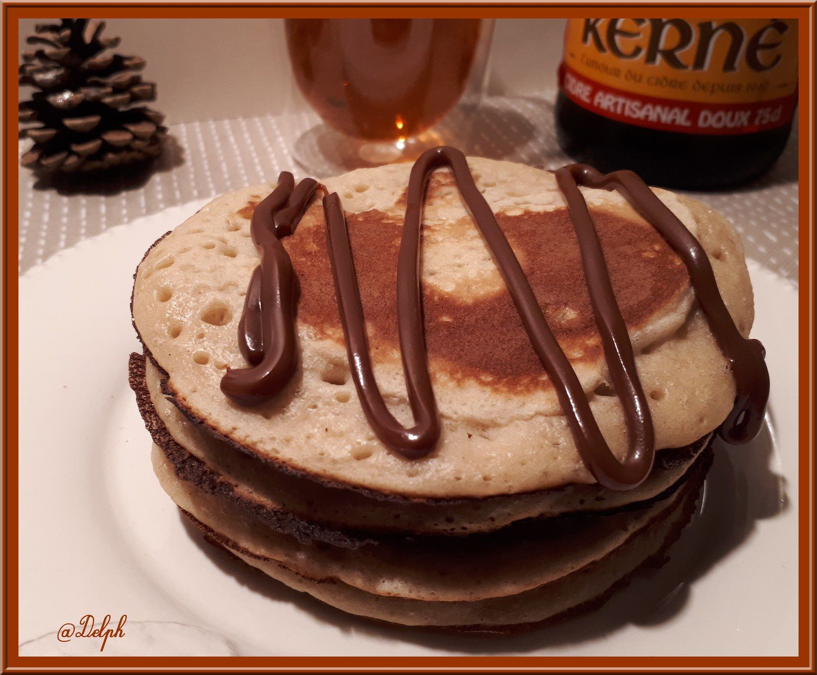 Pancakes au cidre