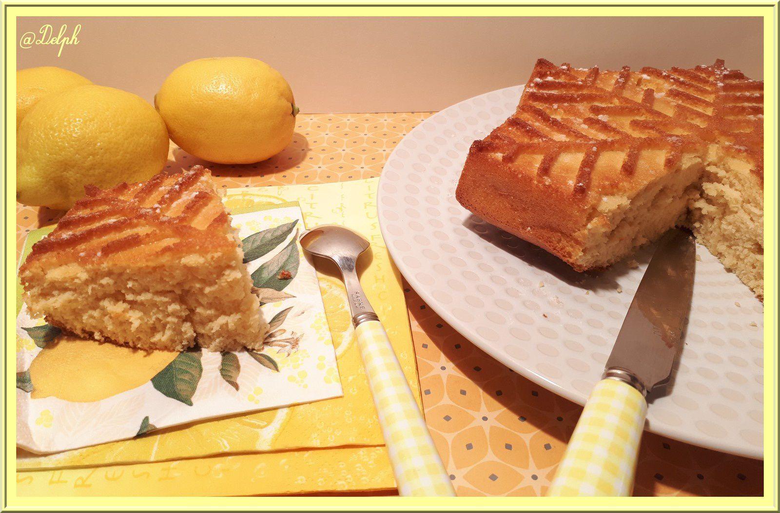 Gâteau au Citron sans beurre