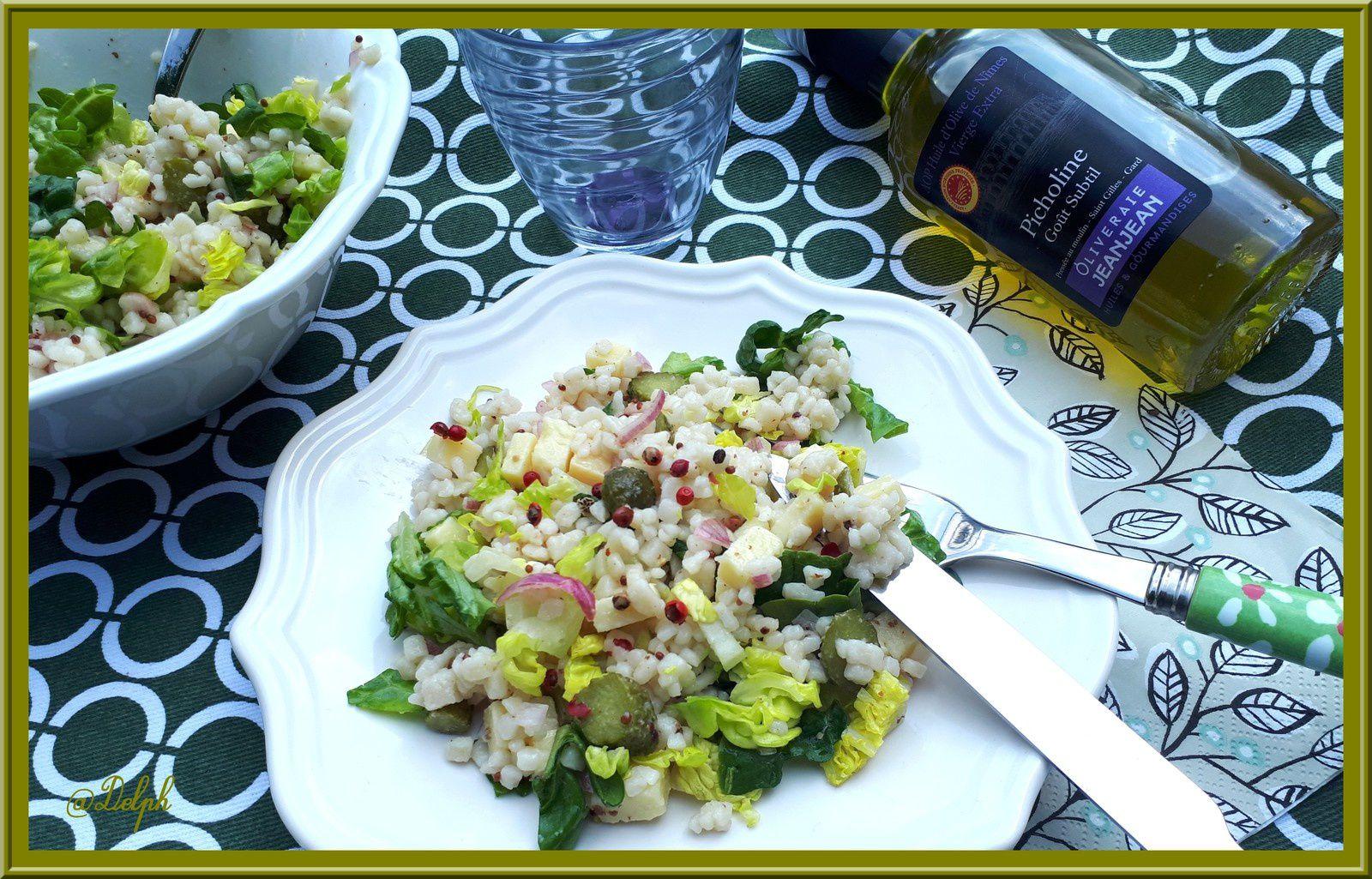 Salade de Crozets au Comté
