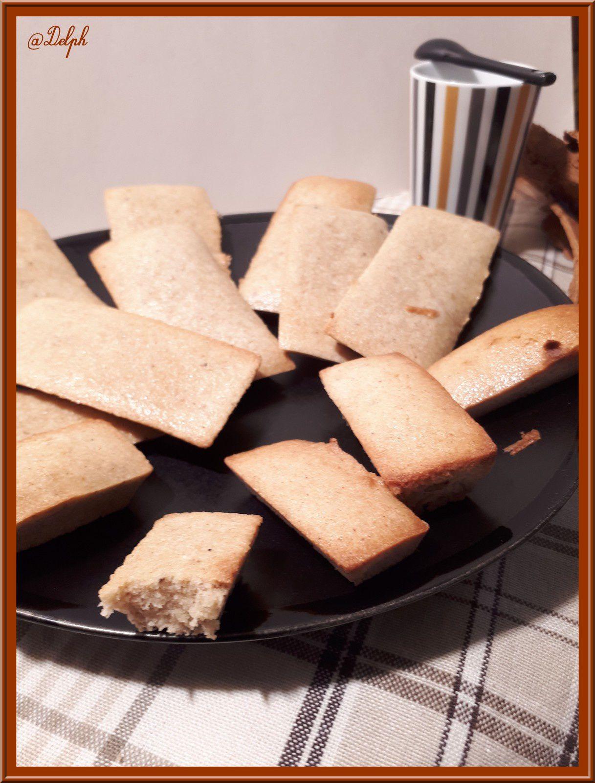 Financiers saveurs pain d'épices
