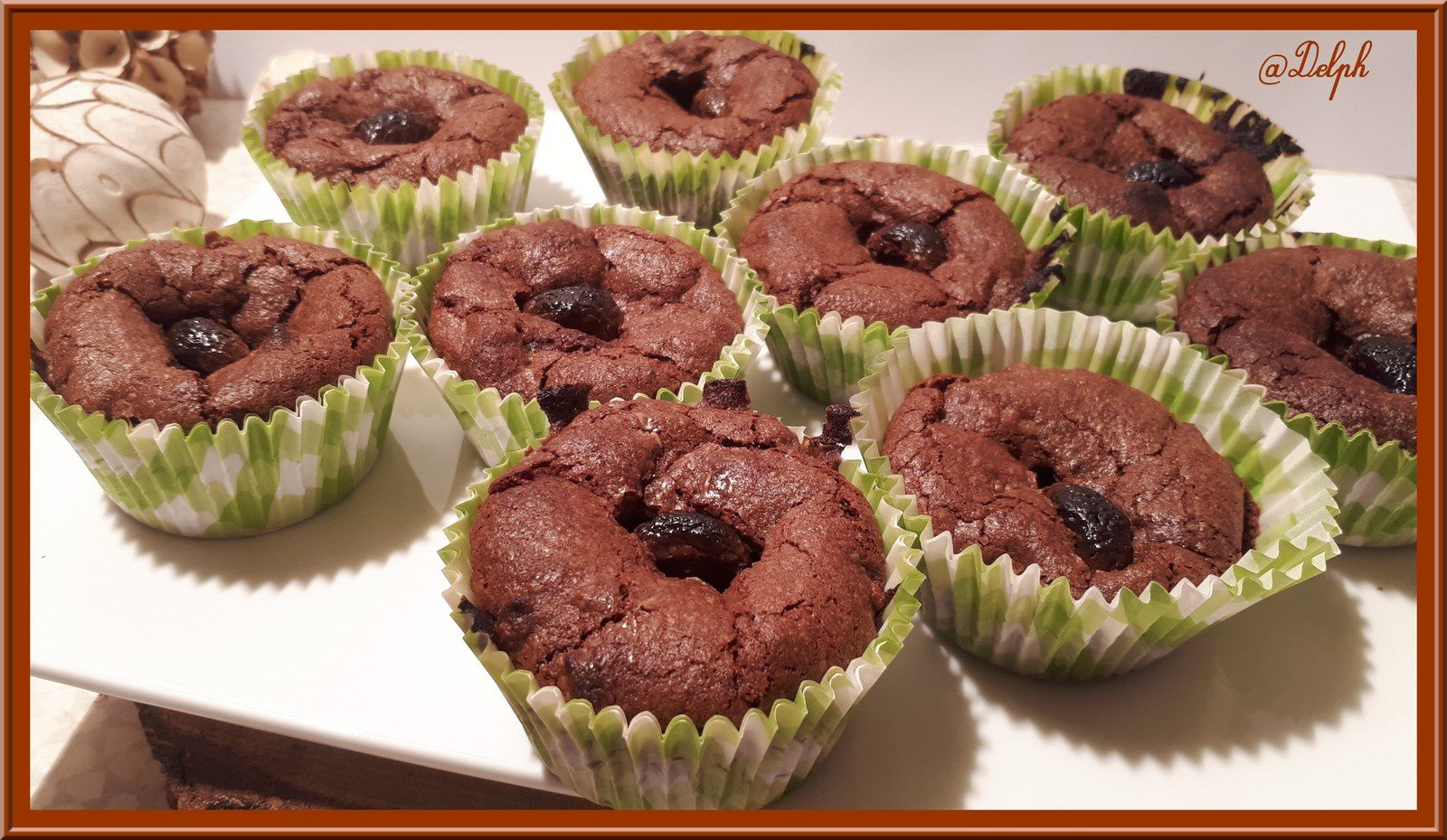 Muffins façon brownies