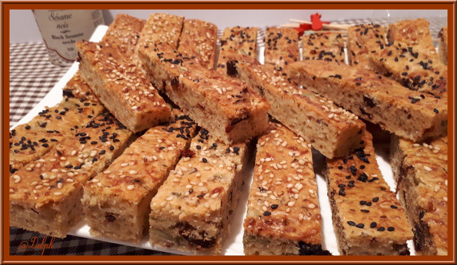 Bâtonnets de Cake à la Provençale