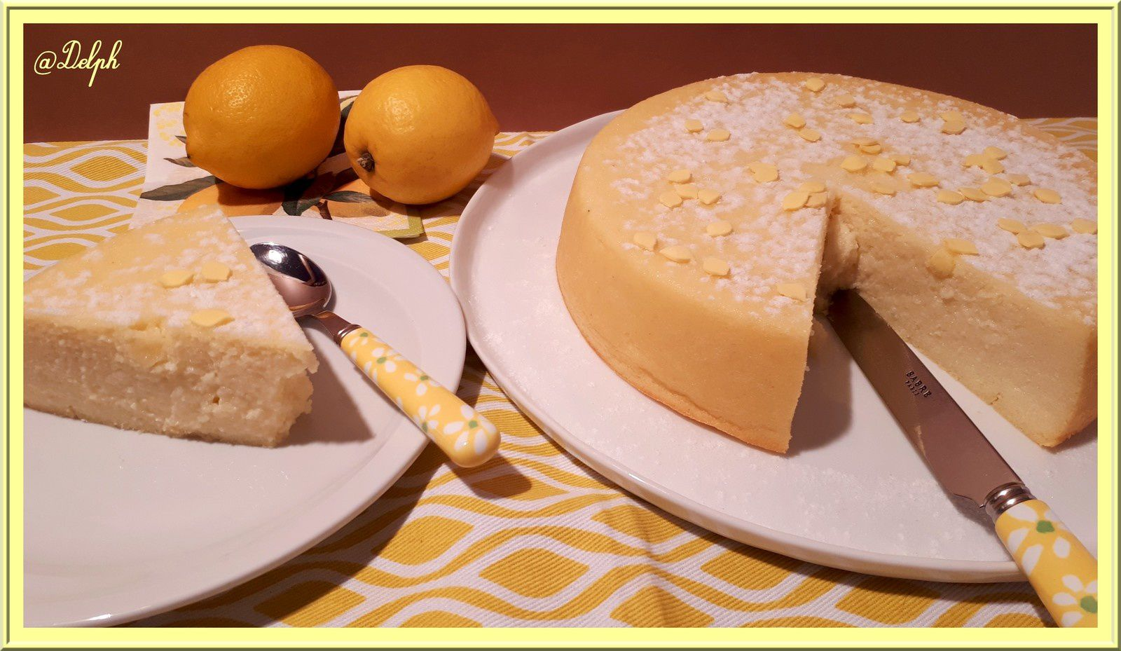 Gâteau de semoule à la Ricotta