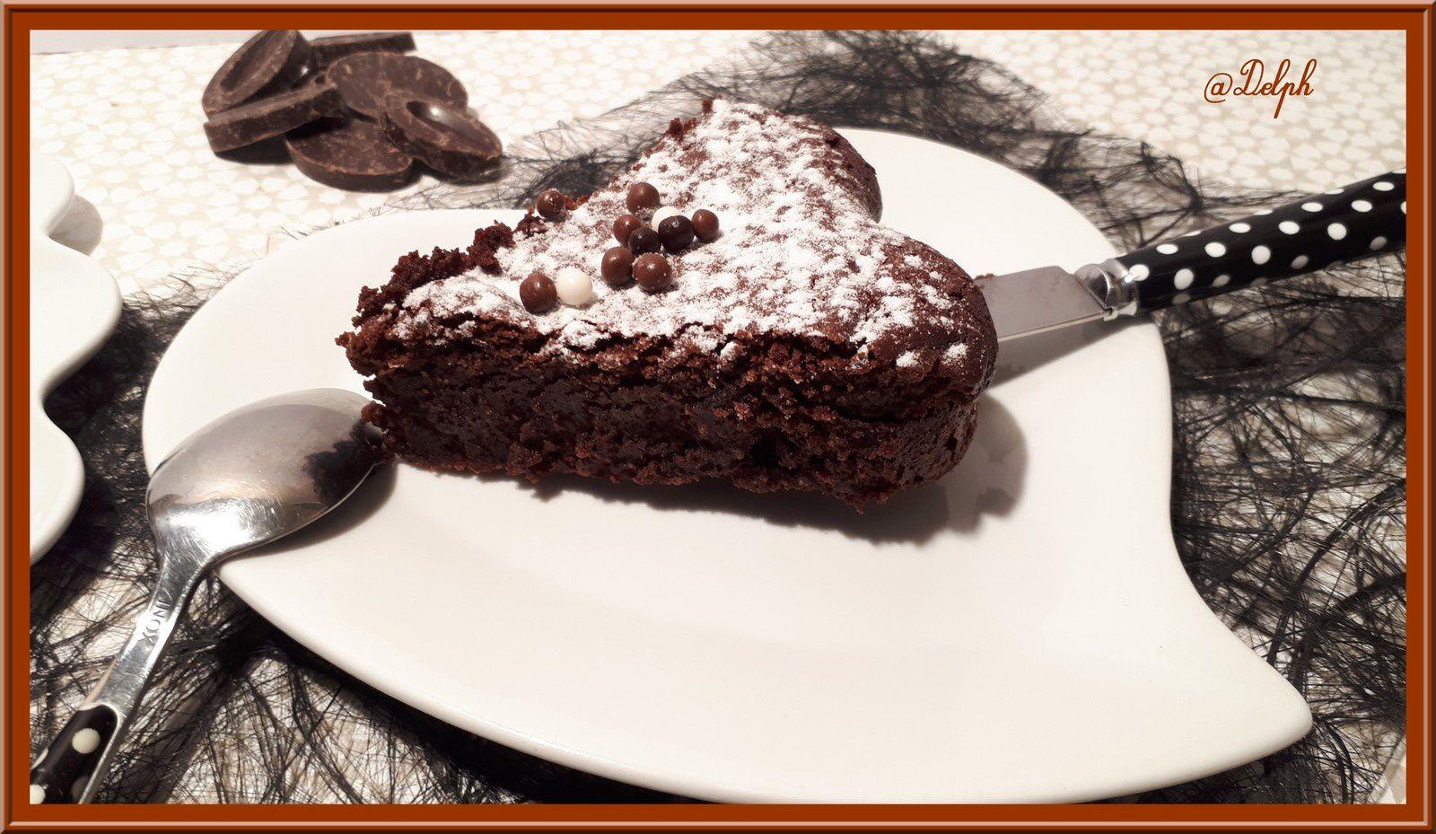 Fondant au chocolat amandes-noisettes sans gluten