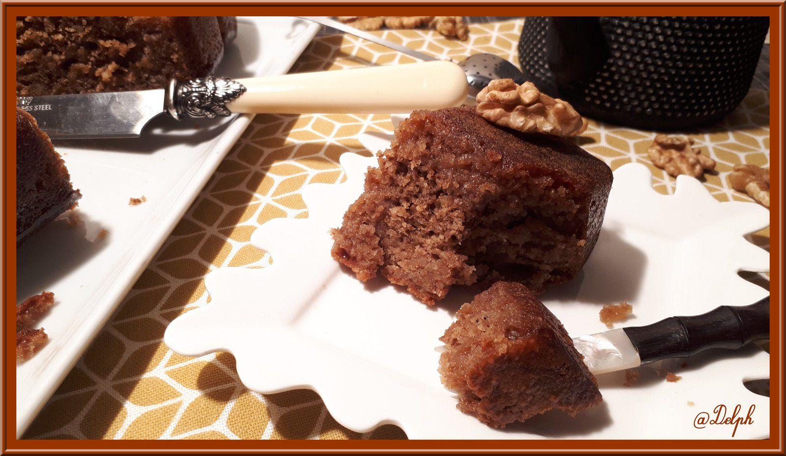 Gâteaux Grec aux noix ( Karidopita )