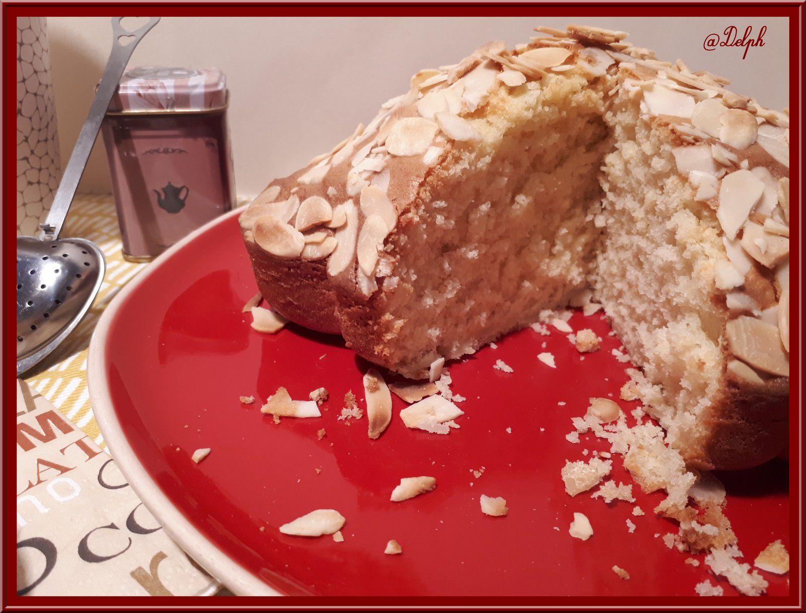 Gâteau au Yaourt et amandes