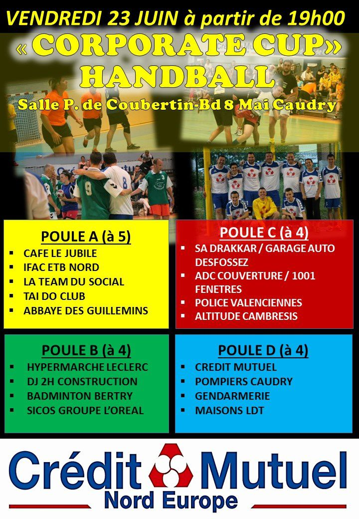 TIRAGE POULES CORPORATE CUP