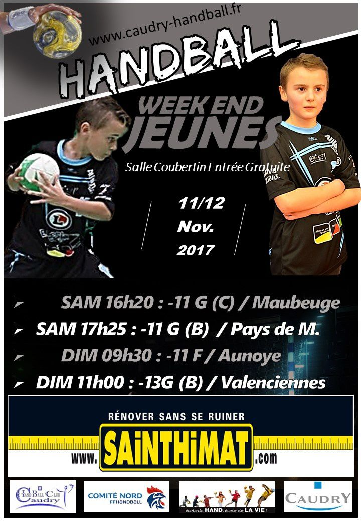 MATCHS DU WE 11/12 NOV A COUBERTIN