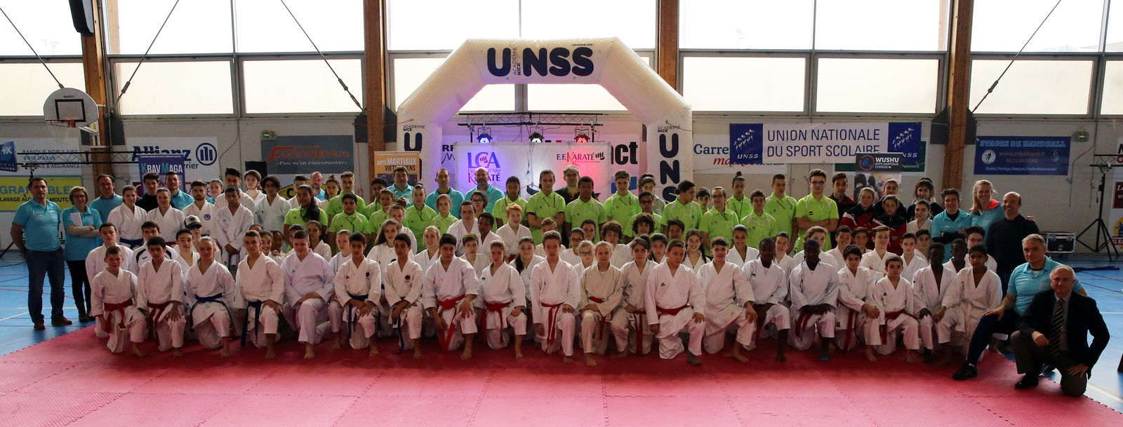 CHAMPIONNATS FRANCE UNSS KARATE