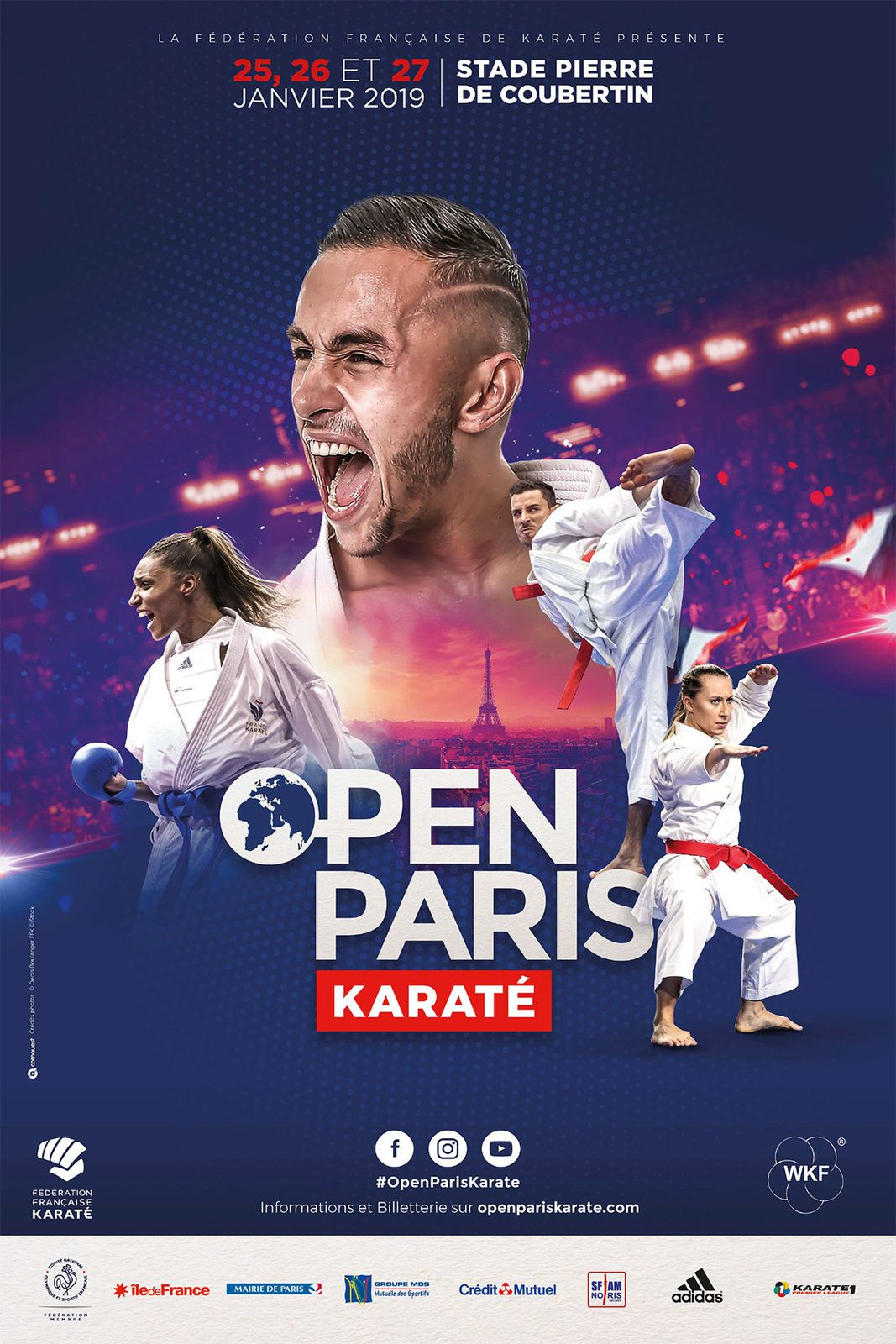 Open de Paris du 25 au 27 Janvier